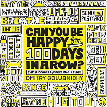 Can You Be Happy for 100 Days in a Row Book Cover.