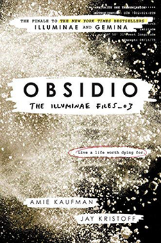 Obsidio Book Cover Staff Pick.