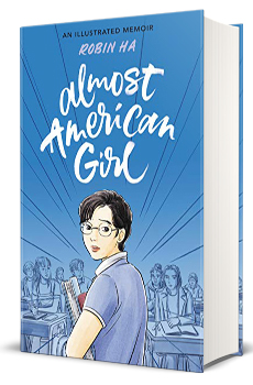 Almost American Girl Book Cover.