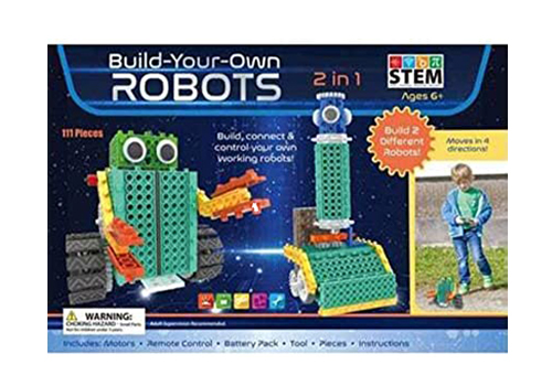 Build-Your-Own-Robots Toy Kit.