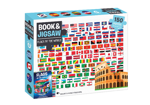 Flags of the World Puzzle.