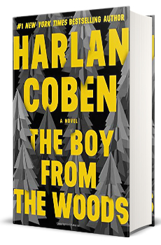 The Boy from the Woods Book Cover.