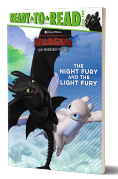 The Night Fury and the Light Fury Book Cover.
