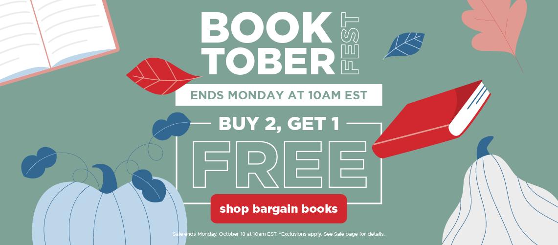 Booktoberfest Buy 2, Get 1 FREE