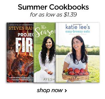 Summer cook books-COM