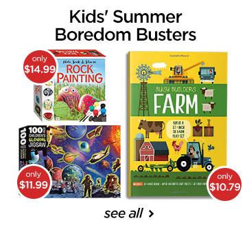 Kids Summer Boredom Busters-CA