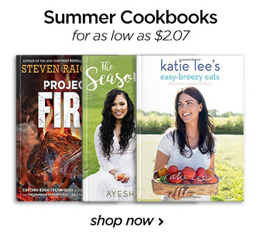 Summer cook books-CA