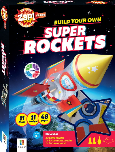 Build Your Own Super Rockets (Zap! Extra)