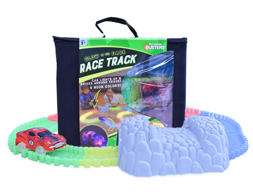Glow in the Dark Race Track (Boredom Busters)