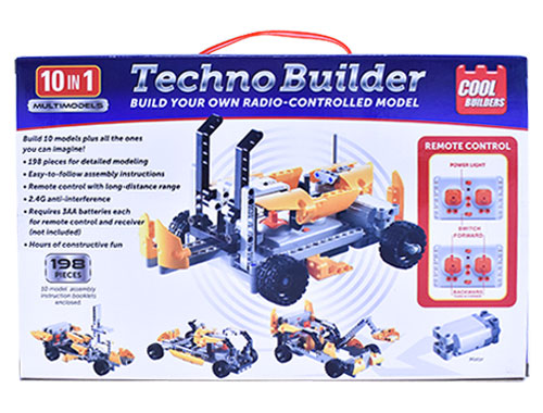 Techno Builder: Build Your Own Radio-Controlled Model (Cool Builders)