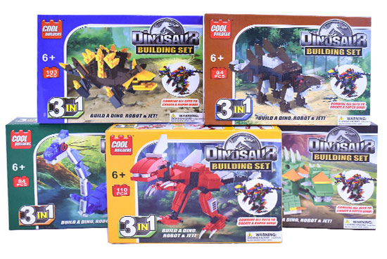 Dinosaur Building Set