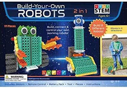 Build-Your-Own Robots (STEM)
