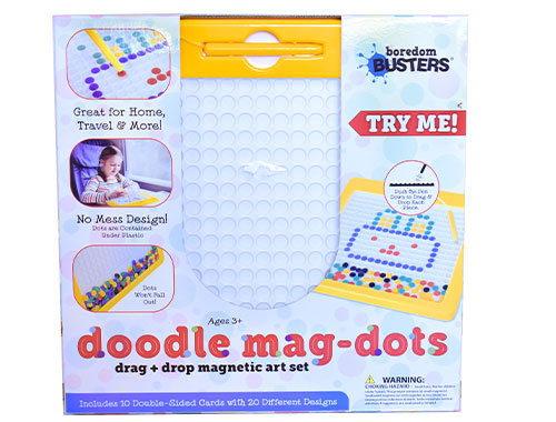 Doodle Mag-Dots: Drag & Drop Magnetic Art Set)