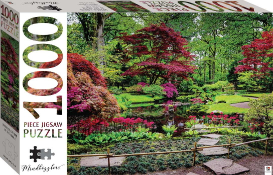 Japanese Garden In the Hague 1000 Piece Jigsaw Puzzle (Mindbogglers)