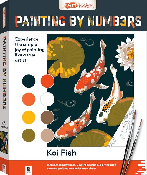 Koi Fish Painting by Numbers (Art Maker)