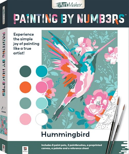 Hummingbird Painting by Numbers (Art Maker)