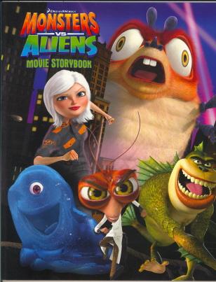 Movie Storybook (Monsters vs Aliens)