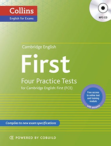 Cambridge English First: Four Practice Tests For Cambride Engish:  First (FCE)