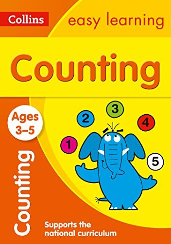 Counting Workbook (Collins Early Learning, Ages 3-5)