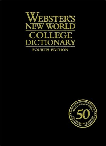 Webster's New World College Dictionary (Thumb Indexed, 4th Edition)