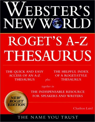 Webster's New World Roget's A-Z Thesaurus (New Roget Edition)