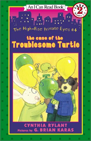 The Case Of The Troublesome Turtle (An I Can Read Book Level 2 Grades 1-3)