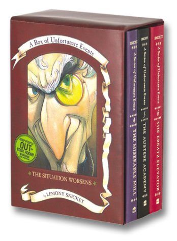 The Situation Worsens (Box Of Unfortunate Events, Books 4-6)