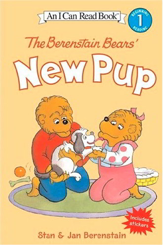 The Berenstain Bears' New Pup (I Can Read ! Level 1)