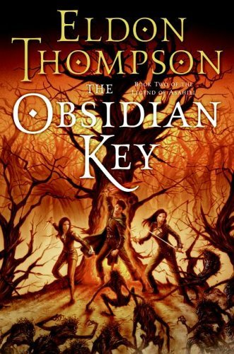 The Obsidian Key (Book #2 of the Legend of Asahiel)