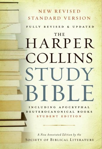 Harper Collins Study Bible: Student Edition (Fully Revised & Updated, NRSV)