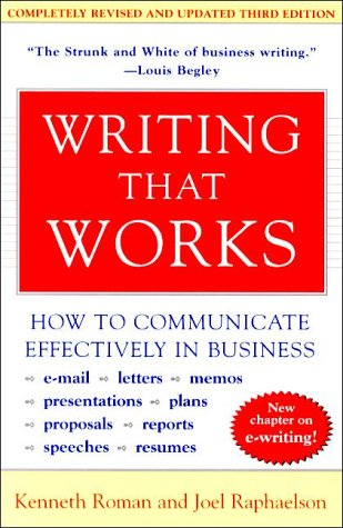 Writing That Works (Third Edition)