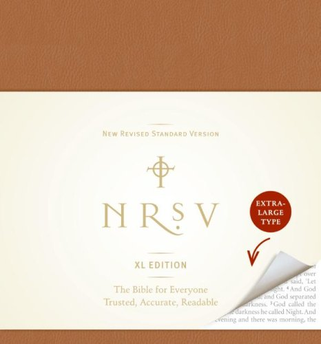 NRSV XL Bible (Brown, Extra Large Type)