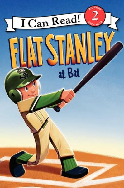 Flat Stanley at Bat (I Can Read! Level 2)