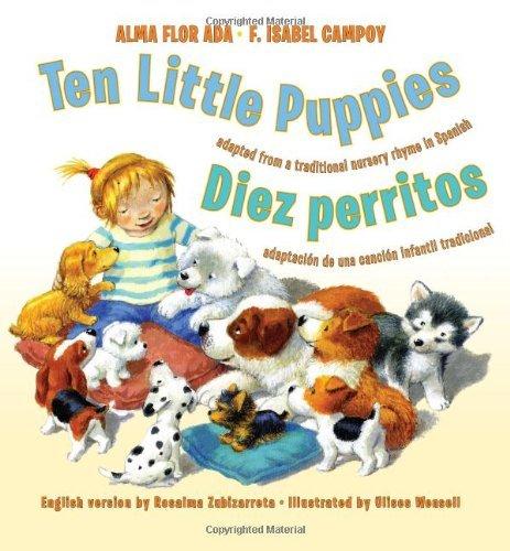 Ten Little Puppies / Diez Perritos (English/Spanish Edition)