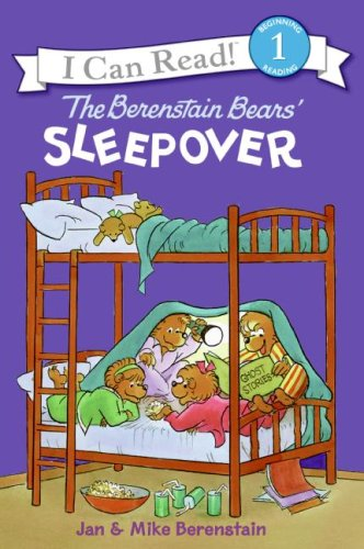 The Berenstain Bears' Sleepover (I Can Read! Beginning Reading)