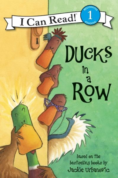 Ducks in a Row (I Can Read! Level 1)
