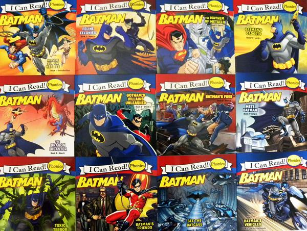 Batman Phonics Fun (I Can Read! Phonics)