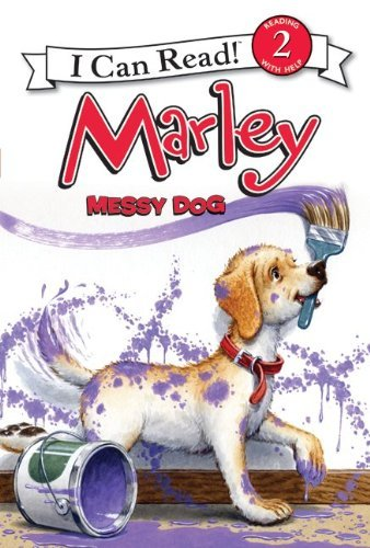 Marley: Messy Dog (I Can Read, Level 2)
