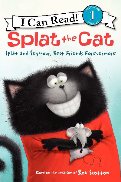 Splat the Cat: Splat and Seymour, Best Friends Forever (I Can Read! Level 1)