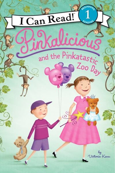 Pinkalicious and the Pinkatastic Zoo Day (I Can Read! Level 1)