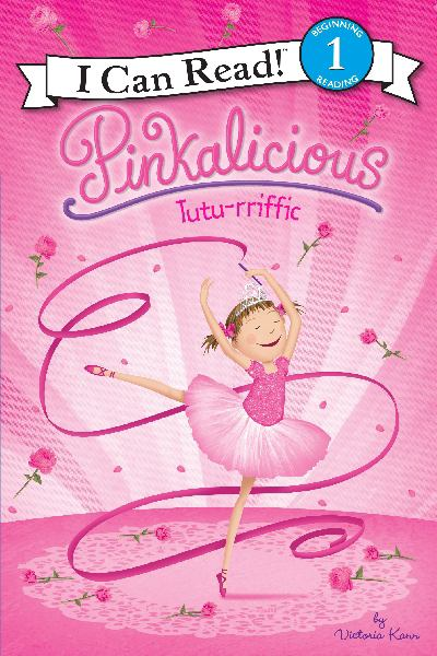 Pinkalicious: Tutu-rrific! (I Cn Read!, Level 1)