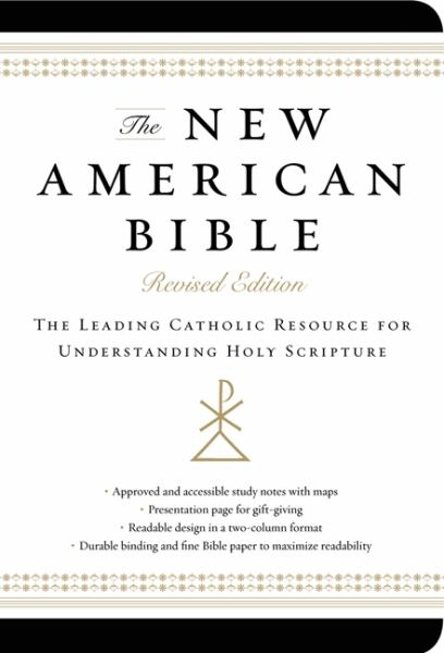 The New American Bible (Non-Flex Black Imitation Leather, Revised Edition)