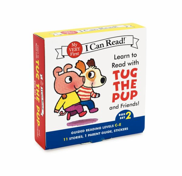 Learn to Read with Tug the Pup and Friends! Box Set 2: Guided Readiing Levels C-E (My Very First I Can Read!)