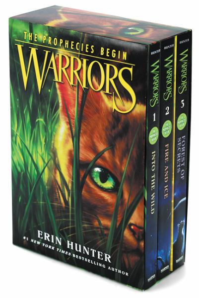 Warriors: The Prophecies Begin Box Set (Into the Wild/Fire and Ice/Forest of Secrets)