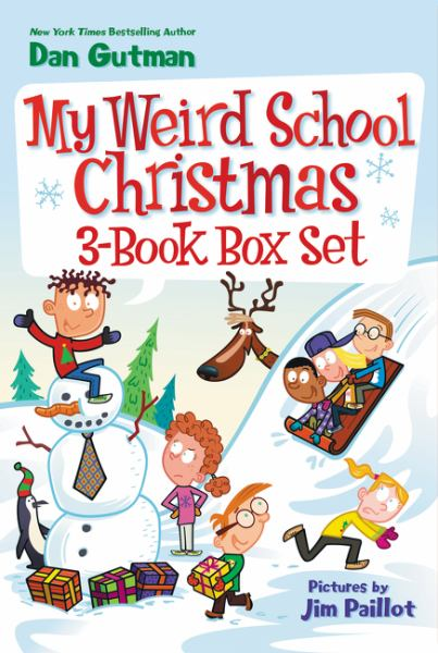 My Weird School Christmas 3-Book Box Set (Miss Holly Is Too Jolly!, Dr. Carbles Is Losing His Marbles!, Deck the Halls, We're Off the Walls!