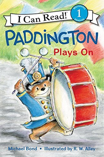 Paddington Plays On (I Can Read, Level 1)