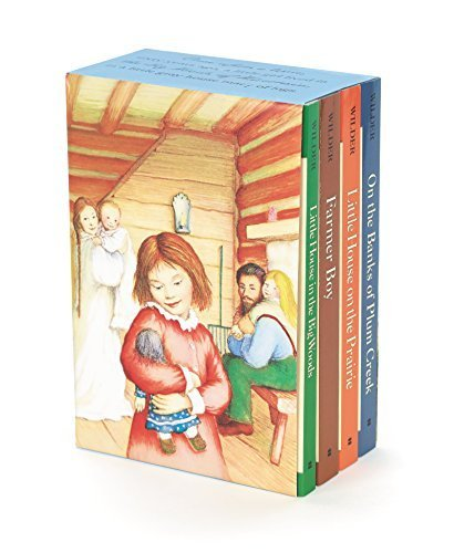 Little House 4-Book Box Set (Little House/Plum Creek/Farmer Boy/Big Woods)