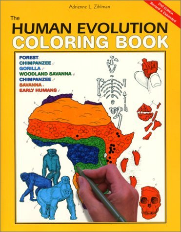 The Human Evolution Coloring Book (2nd Edition)