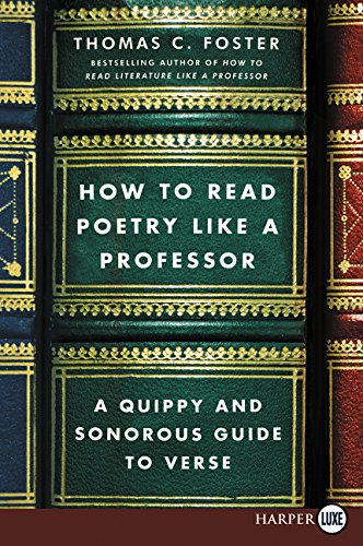 How to Read Poetry Like a Professor (Large Print)