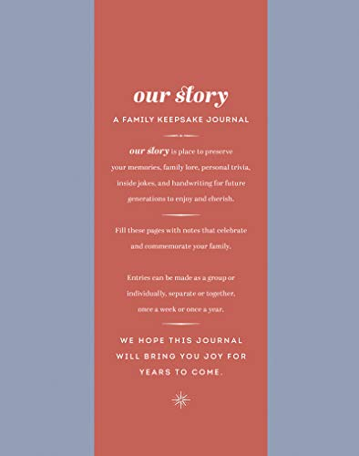 Our Story: A Family Keepsake Journal